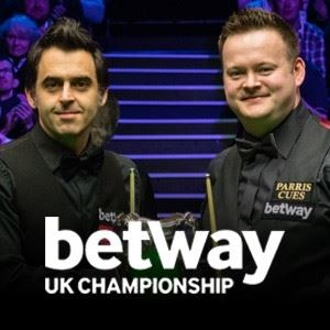 Betway UK Championship Snooker - Last 128