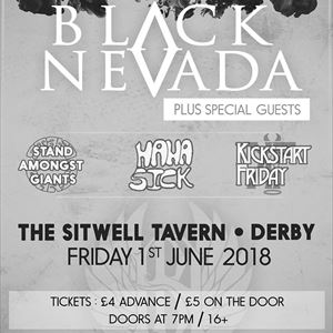 Black Neveda at The Sitwell Tavern, Derby