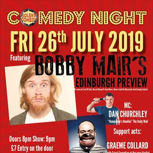 Bobby Mair Live in Southampton