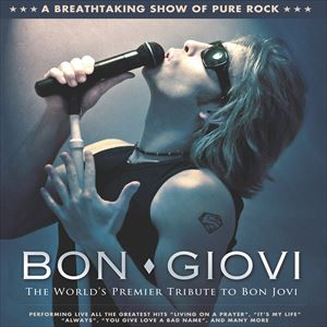 Bon giovi at the Station