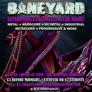 Boneyard - Liverpool's Ultimate Metal Night