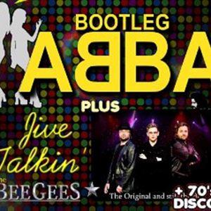 BOOTLEG ABBA + JIVE TALKIN' (BEE GEES)