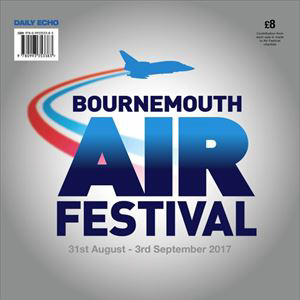 Programmes for the 2017 Bournemouth Air Festival