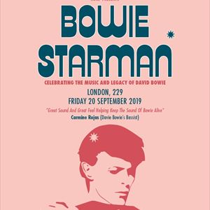 BOWIE STARMAN celebrating the music of David Bowie