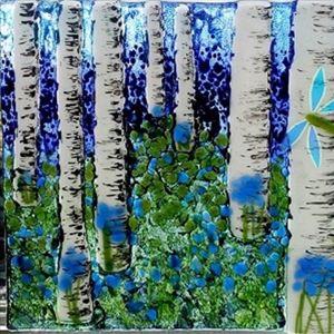 Bradgate Inspires Glass Fusion - Birch Trees
