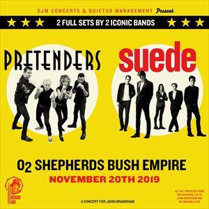 Brandaid Feat. Pretenders & Suede