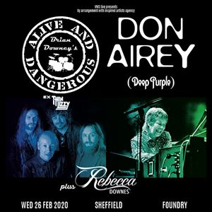 Brian Downey & Don Airey