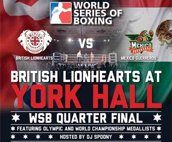 British Lionhearts Vs Mexico Guerreros