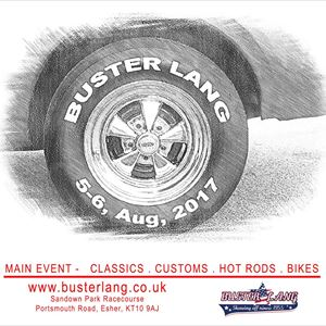 Buster Lang Car Show 5 & 6 August 2017