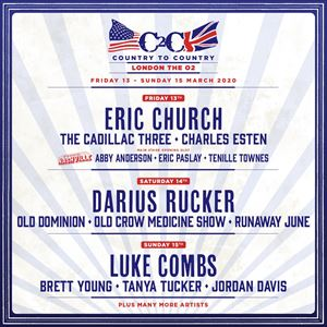 C2C Country To Country 2020 - Sunday