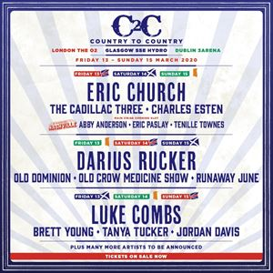 C2c Country To Country 2020 - 3 Day Tickets
