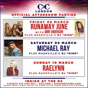 C2C Official Aftershow Parties