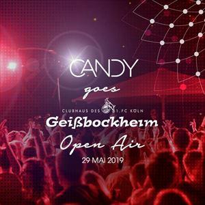 Candy Goes Geißbockheim | Open Air