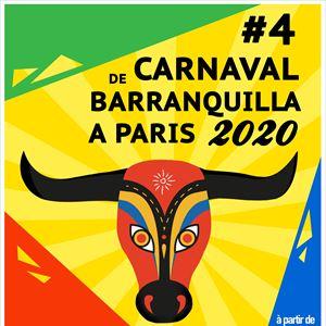 Carnaval de Barranquilla à Paris #4 / La Marbrerie