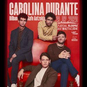 CAROLINA DURANTE - LAST TOUR