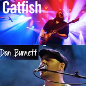 Catfish and Dan Burnett at Horsham Sports Club