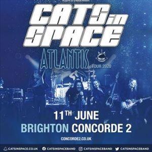 Cats In Space 'Atlantis Tour 2020 '