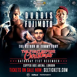 Championship Boxing: Daniel Dubois & Tommy Fury