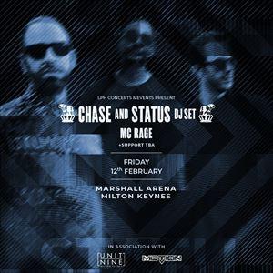 Chase & Status (DJ Set) + MC RAGE
