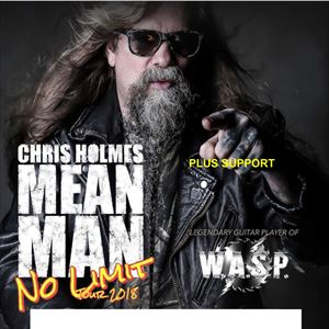 Chris Holmes Mean Man Tour 2018