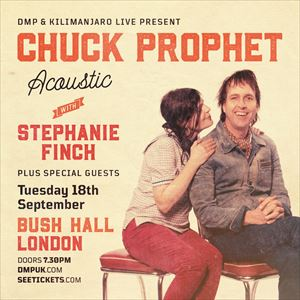 Chuck Prophet Acoustic With Stephanie Finch