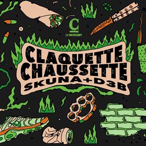 Claquette Chausette: Skuna + D3B