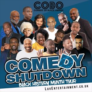 COBO : Comedy Shutdown Black History Month Special from See Tickets