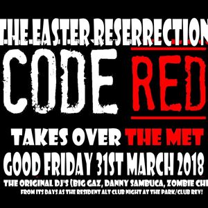 CODE RED - the Easter Talkeover
