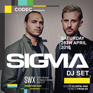 CODEC Presents SIGMA