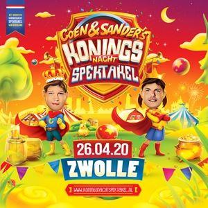Coen&Sander's Koningsnacht Spektakel 2020