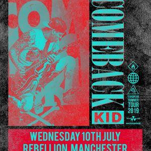 Comeback Kid - Manchester.