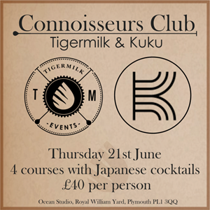 Connoisseurs club - Tigermilk & KUKU