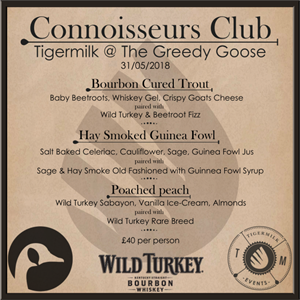 Connoisseurs Club - Tigermilk @ The Goose