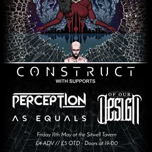 Construct + Support at The Sitwell Tavern - 11 May