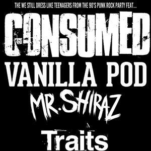 CONSUMED + VANILLA POD + MR SHIRAZ + TRAITS