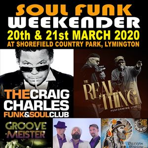 Craig Charles DJ Set - Fri Only Ticket