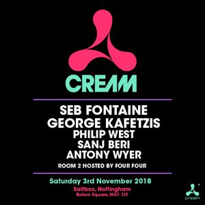Cream @ Saltbox Nottingham