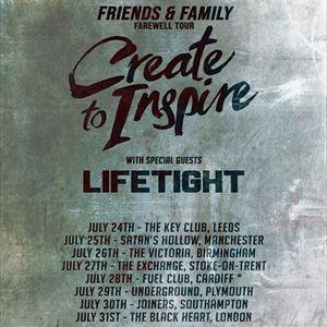 CREATE TO INSPIRE (Farewell Tour)