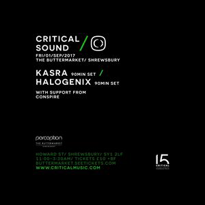 Critical Sound / Kasra / Halogenix / Funktion One