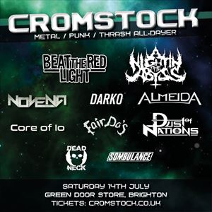 CROMSTOCK - Metal, Punk & Thrash all-dayer