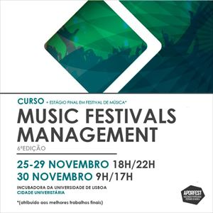Curso Music Festivals Management