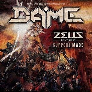 DAME ZEUS TOUR 2019