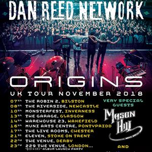 Dan Reed Network Origins UK Tour Stoke