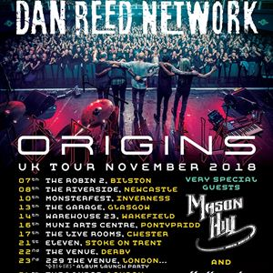 Dan Reed Network UK Origins Tour Derby