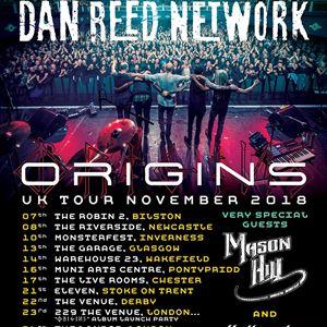 Dan Reed Network UK Origins Tour London