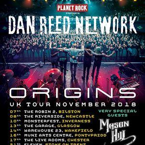 Dan Reed Network UK Origins Tour Wakefield