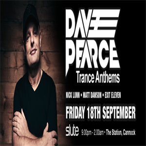 Dave Pearce at the Station Cannock