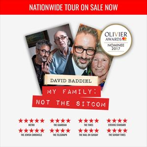 David Baddiel My Family: Not The Sitcom