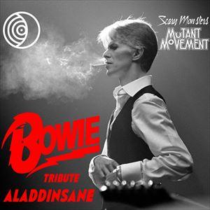 David Bowie Tribute AladdinSane : Mutant Movement