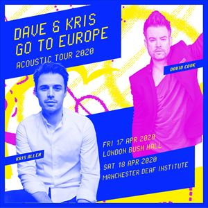 Dave & Kris Go To Europe: Acoustic Tour 2020